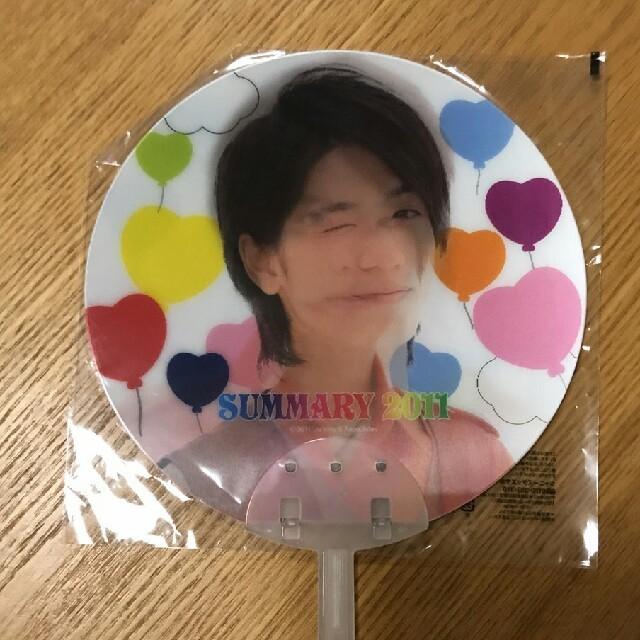 【新品未使用】Hey!Say!JUMP サマリー2011 うちわ エンタメ/ホビーのタレントグッズ(アイドルグッズ)の商品写真