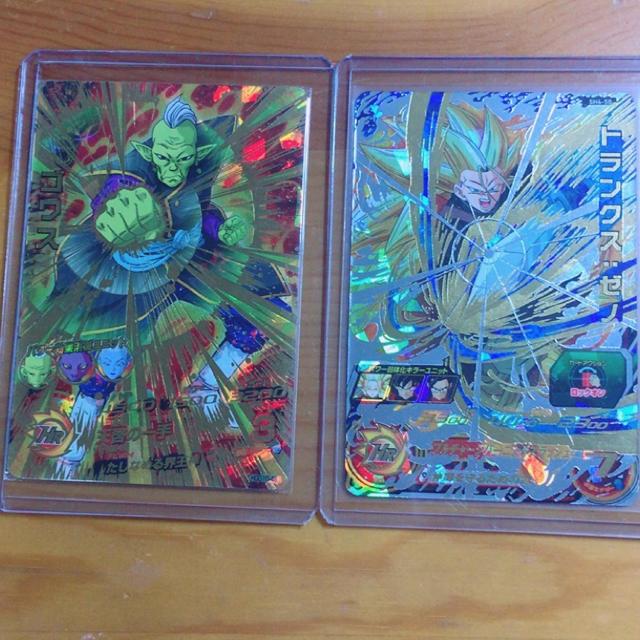ドラゴンボール(ドラゴンボール)のスイー25円オリパ様専用🎶【美品】ゴワス·トランクスゼノURセット✨ エンタメ/ホビーのトレーディングカード(その他)の商品写真