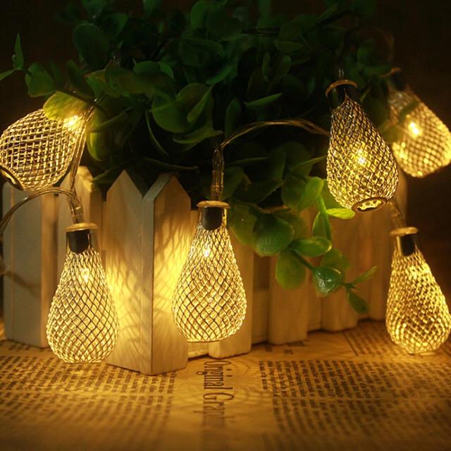 新品未使用 ガーデンライト 照明 オシャレ 可愛い インテリア 間接照明 インテリア/住まい/日用品のライト/照明/LED(その他)の商品写真