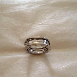 ホワイトゴールド リング 大(リング(指輪))