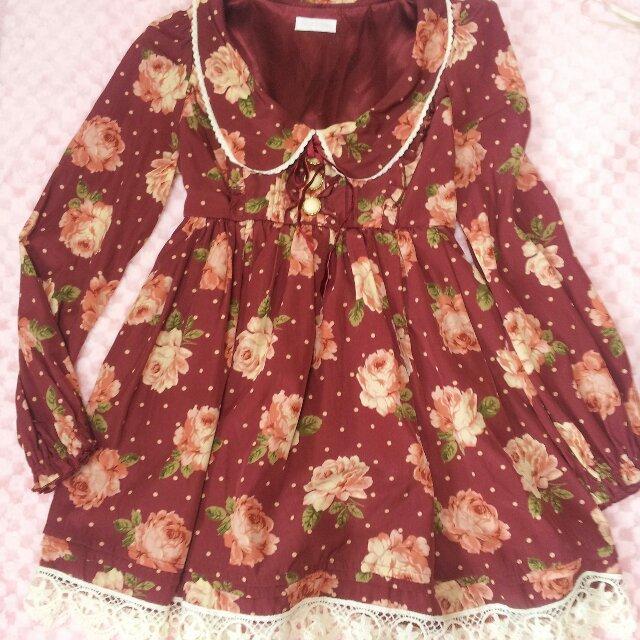 LIZ LISA(リズリサ)のLIZLISA♡花柄レースワンピ レディースのワンピース(ミニワンピース)の商品写真