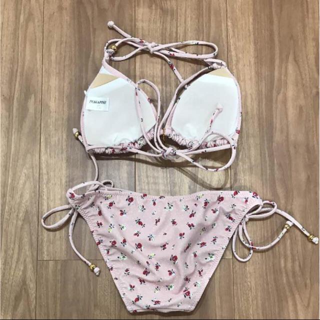 PEAK&PINE(ピークアンドパイン)の新品未使用 PEAK&PINE ピンクのビキニ レディースの水着/浴衣(水着)の商品写真