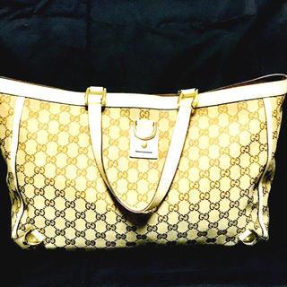 グッチ(Gucci)の正規品!美品!A4サイズ グッチ/Gucci トートバック/ハンドバッグ (トートバッグ)