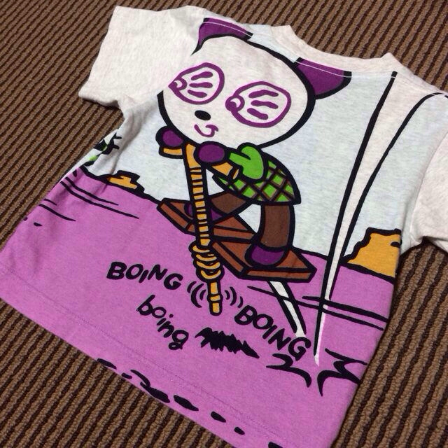 HYSTERIC MINI(ヒステリックミニ)の【送料込】正規品♡ヒス♡美品Tシャツ95 キッズ/ベビー/マタニティのキッズ服 男の子用(90cm~)(その他)の商品写真