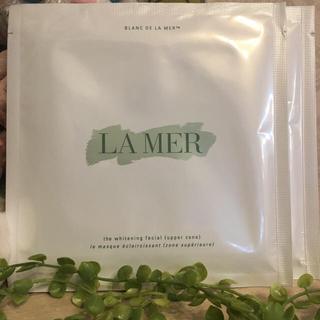 ドゥラメール(DE LA MER)の【新品】【送料無料】☺︎ドゥラメール ホワイトニングフェイシャルマスク☻美白★(パック / フェイスマスク)