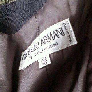 ジョルジオアルマーニ(Giorgio Armani)のアルマーニ【ノーカラージャケット】(ノーカラージャケット)