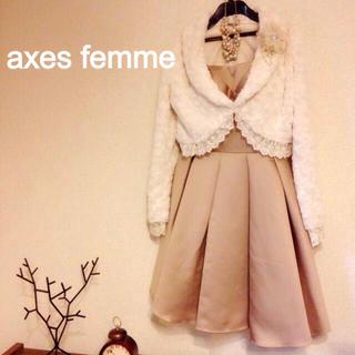 アクシーズファム(axes femme)のアクシーズファム ☆フェイクファーボレロ(ボレロ)