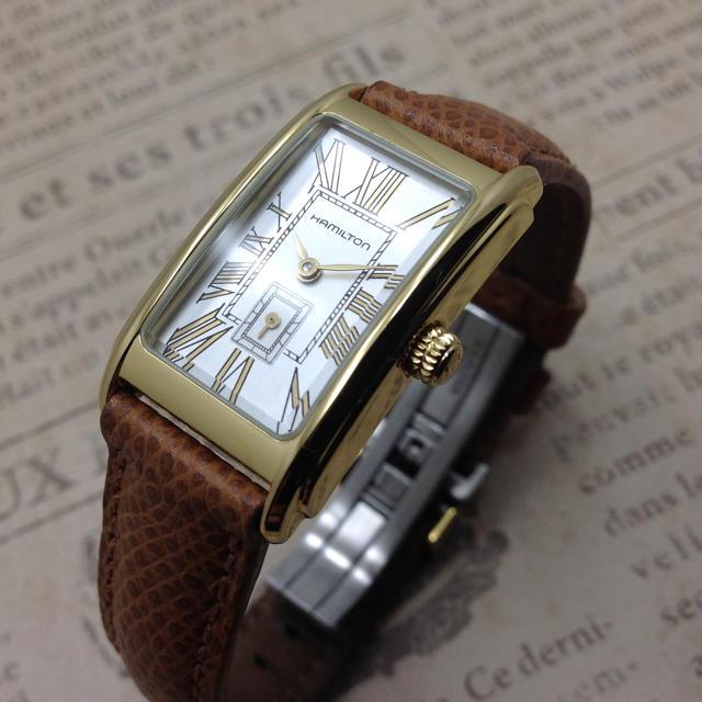 finest selection c1454 13a7b ハミルトン 時計 アンティーク調 | フリマアプリ ラクマ