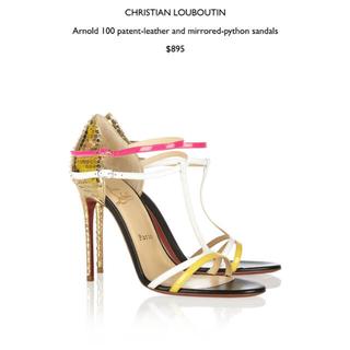 クリスチャンルブタン(Christian Louboutin)のChristian Louboutin ルブタン サンダル39 新品未着用✨(ハイヒール/パンプス)