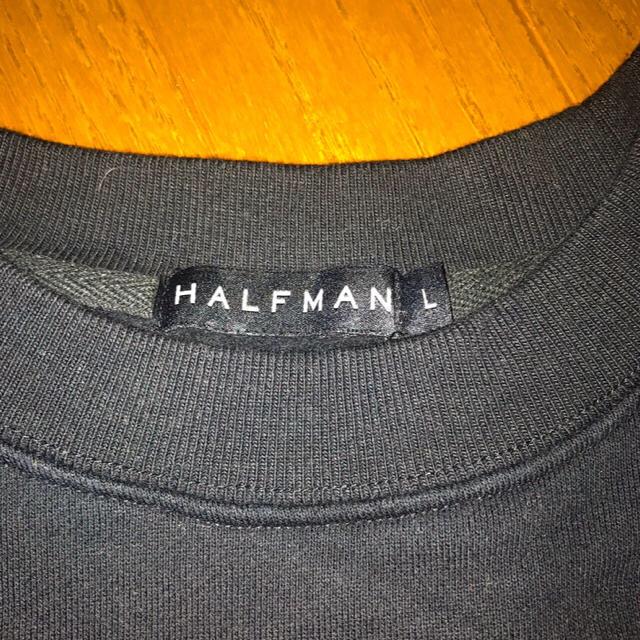 HALFMAN(ハーフマン)のHALFMAN デヴィッド・ボウイ スウェット  メンズのトップス(スウェット)の商品写真