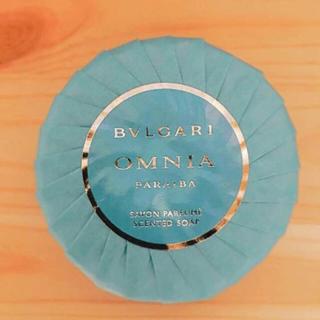 ブルガリ(BVLGARI)の【稀少品★新品】ブルガリオムニア パライバ 。石鹸(ボディソープ / 石鹸)