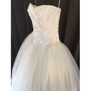 ヴェラウォン(Vera Wang)のさり様専用 white by  verawang バレリーナ ウェディングドレス(ウェディングドレス)