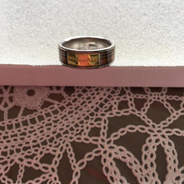 BURBERRY(バーバリー)のバーバリーリング  シルバー レディースのアクセサリー(リング(指輪))の商品写真