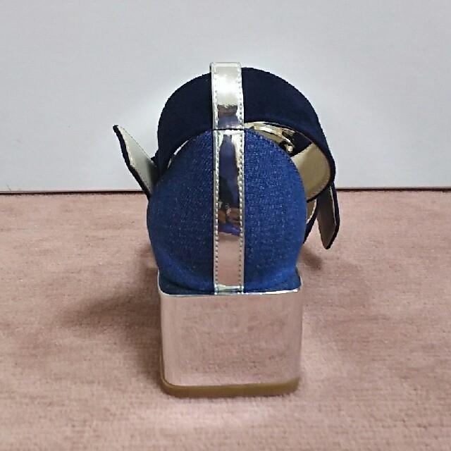 ELENDEEK  メタリックバックルパンプス レディースの靴/シューズ(ハイヒール/パンプス)の商品写真