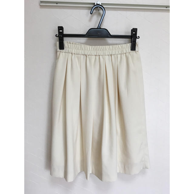 JAYRO(ジャイロ)の膝丈 ホワイト スカート モトマチジャイロ モトマチジャイロ レディースのスカート(ひざ丈スカート)の商品写真