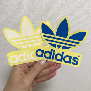アディダス(adidas)の【非売品】adidas originals♡ロゴステッカー(シール)