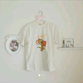 グリモワール(Grimoire)のvintage トムとジェリー Tシャツ 古着 古着屋(Tシャツ(半袖/袖なし))