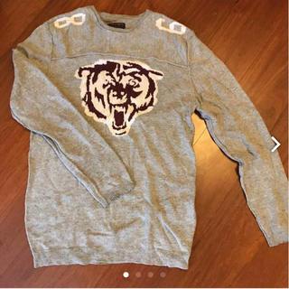イズリール(IZREEL)の美品 イズリール バズリクソンズ セーター メンズ タイガー(ニット/セーター)