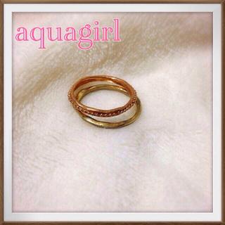 アクアガール(aquagirl)の♡アクアガールリング♡(リング(指輪))