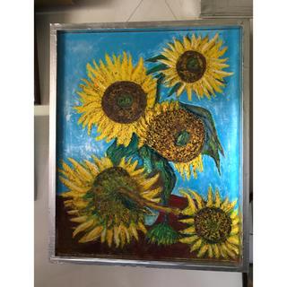 現代美術家、糸川裕志による、焼失したゴッホの向日葵の再現複製(アート/エンタメ)