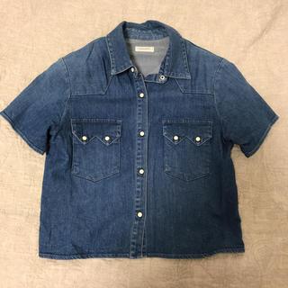 ナイチチ(nai chi chi)のnai chi chi デニムシャツ(シャツ/ブラウス(半袖/袖なし))