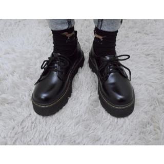 数量限定値引き!新品 レディース 革靴 シューズ ドクターマーチン 風(ブーツ)