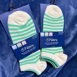 ネイビープロデュース(Navy produce)のNavy ソックス 靴下 新品未使用(ソックス)