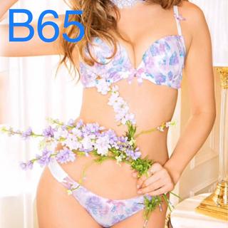 エメフィール(aimer feel)のエメフィール フラワー ブラ ソング セット B65 (ブラ&ショーツセット)