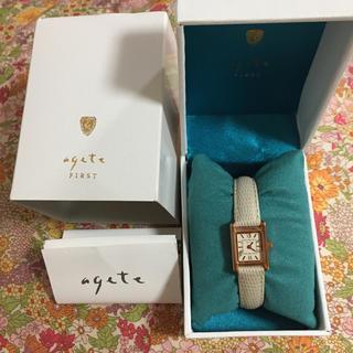 アガット(agete)の【新品】agete 腕時計 レディース(腕時計)