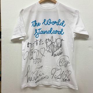 わーすたサイン入りTシャツ ももクロフリル(アイドルグッズ)