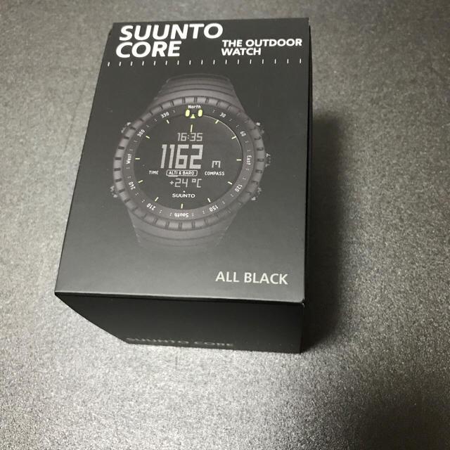 SUUNTO(スント)の【新品未使用】スント コア オールブラック メンズの時計(腕時計(デジタル))の商品写真