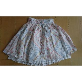 リズリサ(LIZ LISA)の【LIZ LISA】ハンカチ柄スカート(ひざ丈スカート)