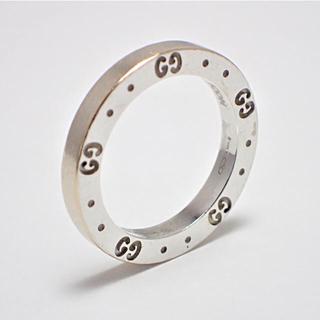 グッチ(Gucci)の★希少★格安★GUCCI グッチ★アイコンリング 750(K18WG)(リング(指輪))