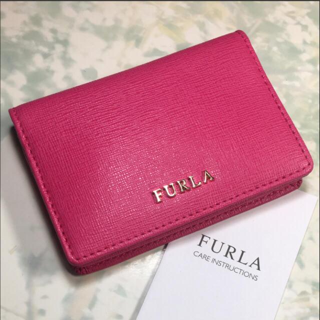 018b11ade69c Furla - 未使用☺︎FURLA フルラ 名刺入れ パスケース ピンク カード ...