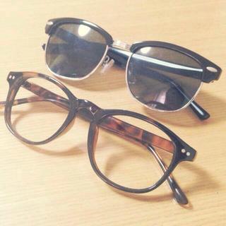 ナディア(NADIA)のサングラス だてめ セット♡(サングラス/メガネ)