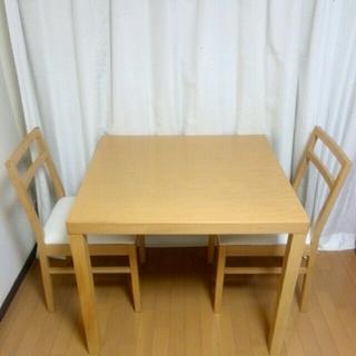 ムジルシリョウヒン(MUJI (無印良品))の取り置き中 無印良品 ダイニングテーブル セット 椅子 (ダイニングテーブル)