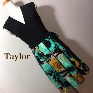 テイラーデザイン(Taylor Design)のTaylor カシュクール ワンピース(ひざ丈ワンピース)