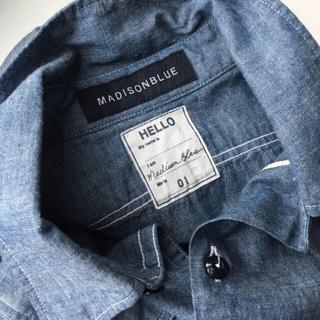 マディソンブルー(MADISONBLUE)の【 ゆき様 専用 】マディソンブルー *  CHAMBRAYシャツ 01(シャツ/ブラウス(長袖/七分))
