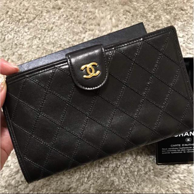 ee3dd387433d CHANEL(シャネル)のCHANEL シャネル 長財布 がま口 ビコローレ ウォレット ヴィンテージ レディースのファッション