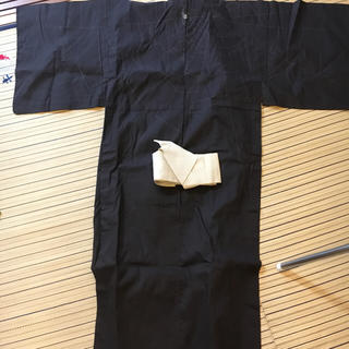 コムサデモード(COMME CA DU MODE)の浴衣+簡単帯付き(浴衣帯)