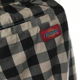 ディッキーズ(Dickies)のディッキーズdickiesチェックワイドパンツMサイズ綿100%ゆるダボ(ハーフパンツ)