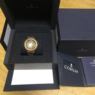 コルム(CORUM)のコルム バブル ヘリテージPVD 350本限定 美品(腕時計(アナログ))
