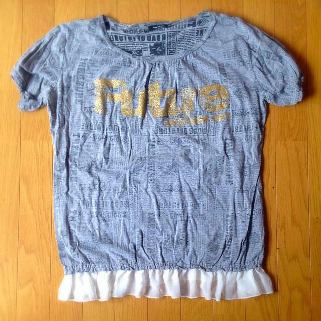しまむら(シマムラ)の英字 半袖トップス✨ レディースのトップス(カットソー(半袖/袖なし))の商品写真