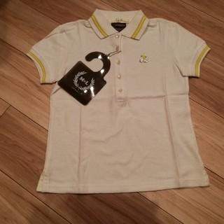 マークアンドロナ(MARK&LONA)の新品未使用タグ付き☆マークアンドロナ白ポロシャツ(ウエア)