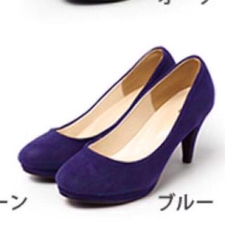 menue ブルー  (ハイヒール/パンプス)