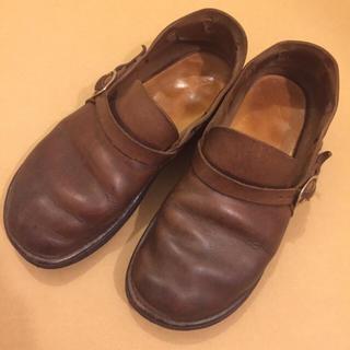 ビュルデサボン(bulle de savon)のminaさま専用🍑オーロラシューズ(ローファー/革靴)