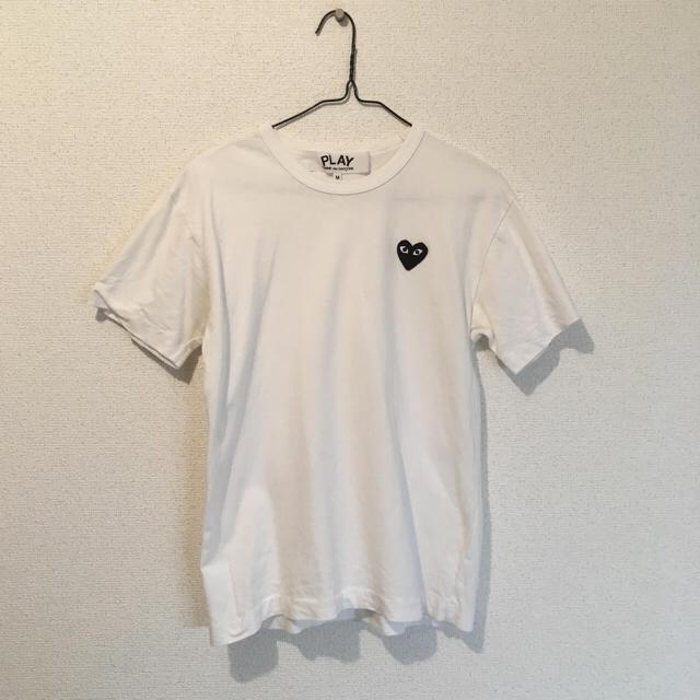 sports shoes 7b692 5efe8 COMME des GARCONS - ギャルソン Tシャツ 半袖 ホワイト ワン ...