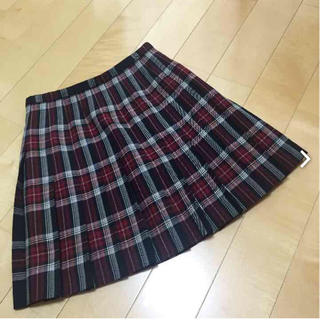 イーストボーイ(EASTBOY)のEAST BOYスカート プリーツ 冬物 ウール100%(ひざ丈スカート)