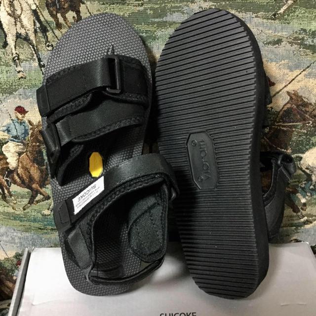 suicoke(スイコック)の×××再注文承ります【suicoke】名作サンダル 新品 ブラック メンズの靴/シューズ(サンダル)の商品写真