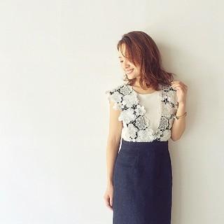 チェスティ(Chesty)のチェスティ 完売新品 2way Lace Jumper Skirt  (ひざ丈スカート)